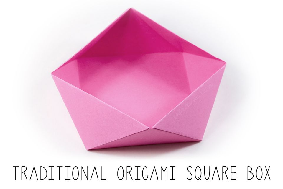 TraditionalOrigami Square Bowl