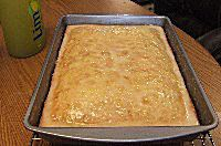 Blueberry Limoncello Cake with a Limoncello Glaze