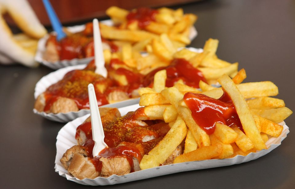 Currywurst Is Berlin Specialty