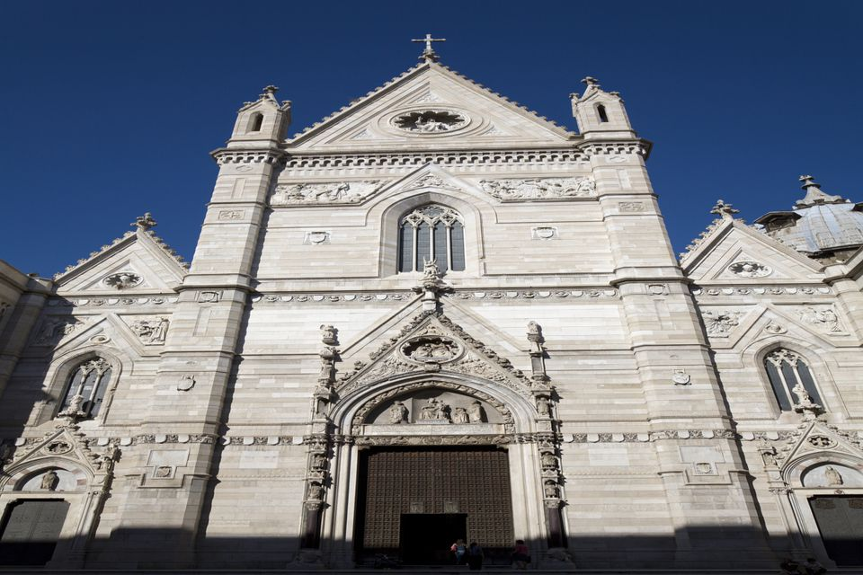 naples cathedral photo