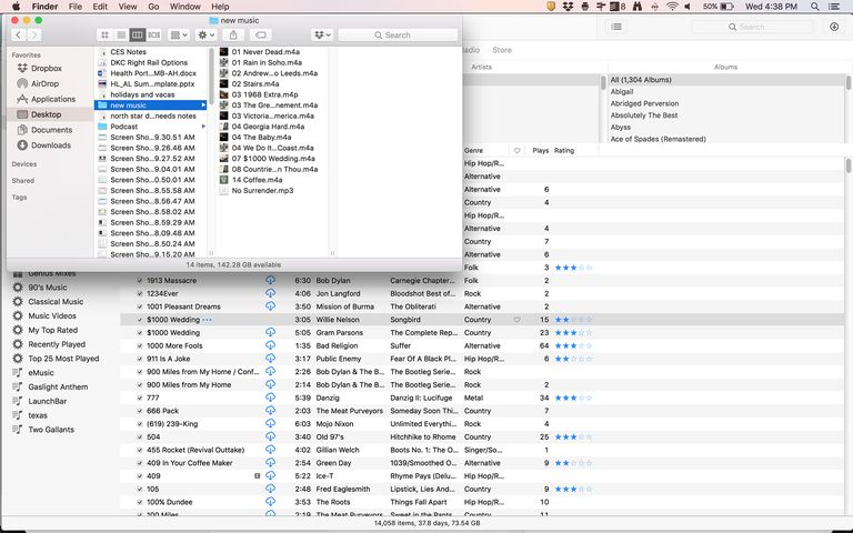 add folders to itunes, step 1