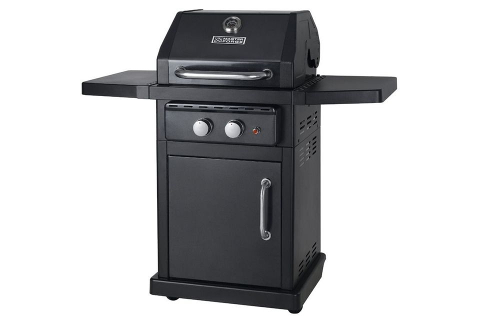 Master Forge Small Space Gas Grill Model# MFA350CNP