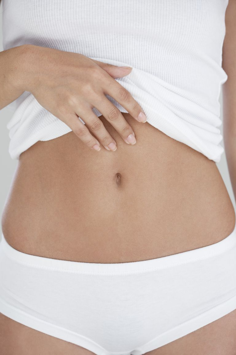 how to wax stomach
