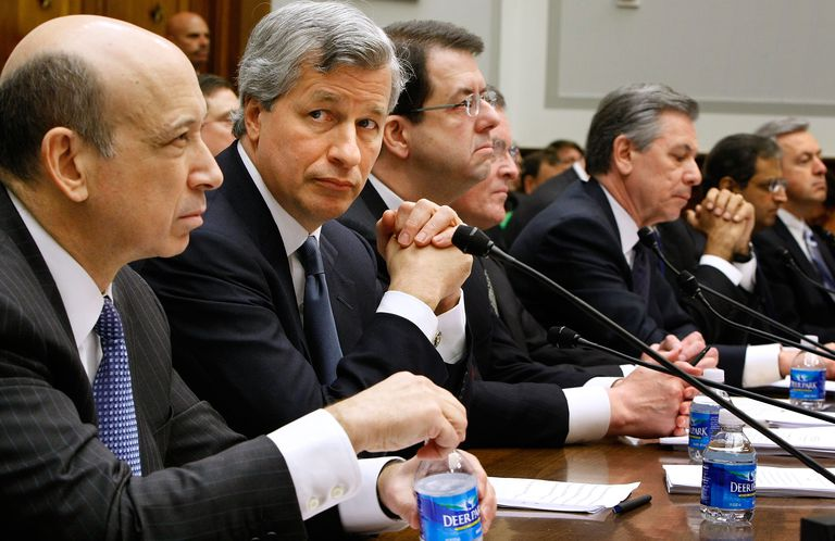 Bankers who took the bailout