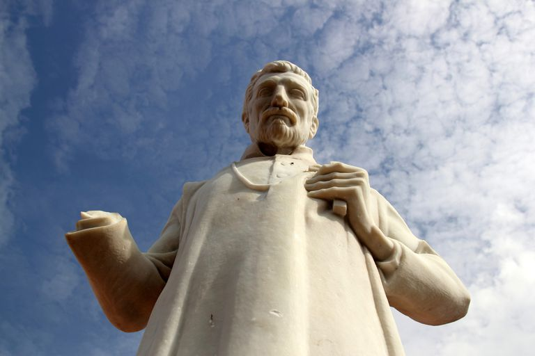 Statue of St. Francis Xavier, Malaysia