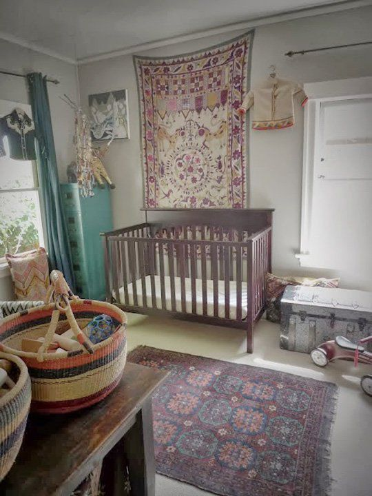 Boho Nursery Chic Modern Nurseries With Bohemian Charm