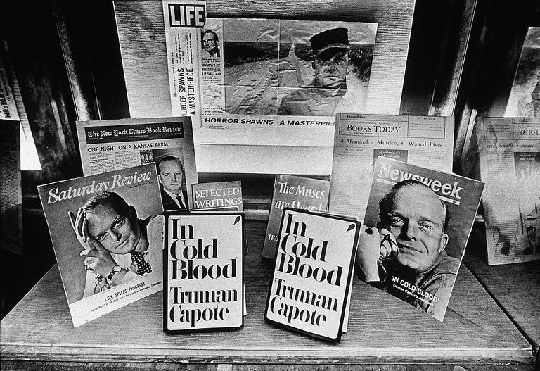 In Cold Blood books and magazines with Truman Capote