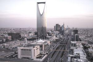 A Saudi Arabian cityscape