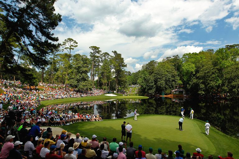 General view of the Par 3 Course at Augusta National