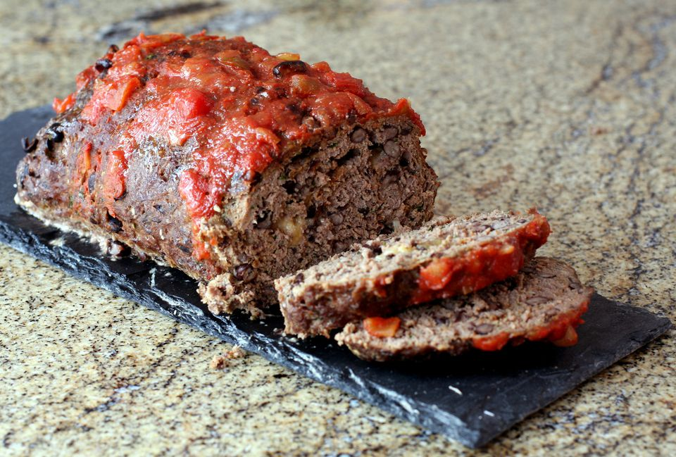 Meatloaf With Black Beans