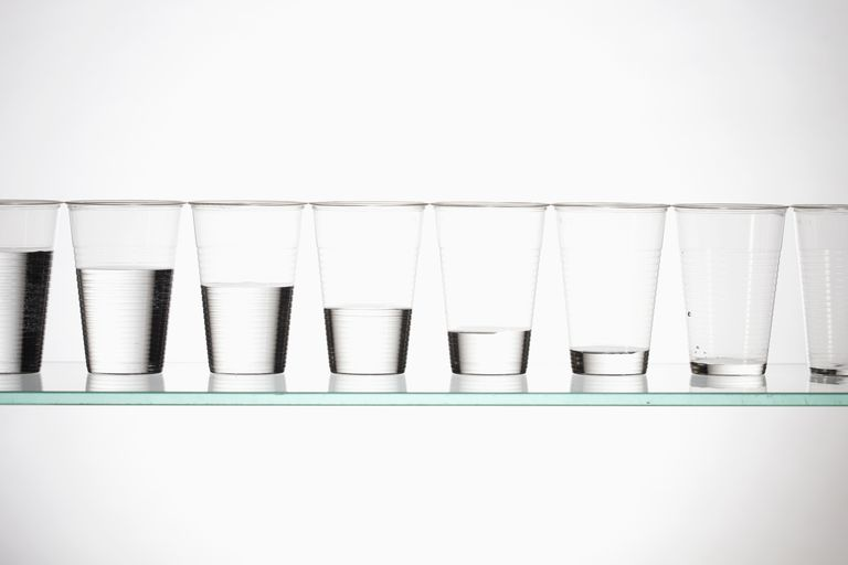 A ratio is a numerical comparison of two or more quantities. It offers more information than simply saying, for example, one glass has more liquid than another.