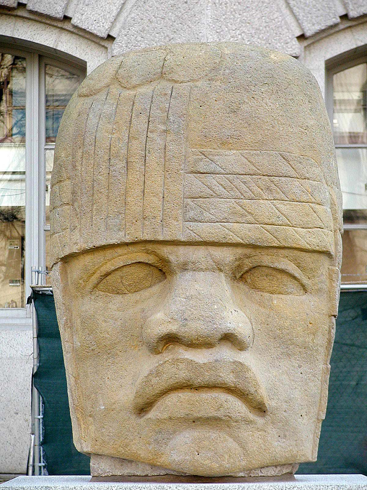 Olmec People A Timeline and History...