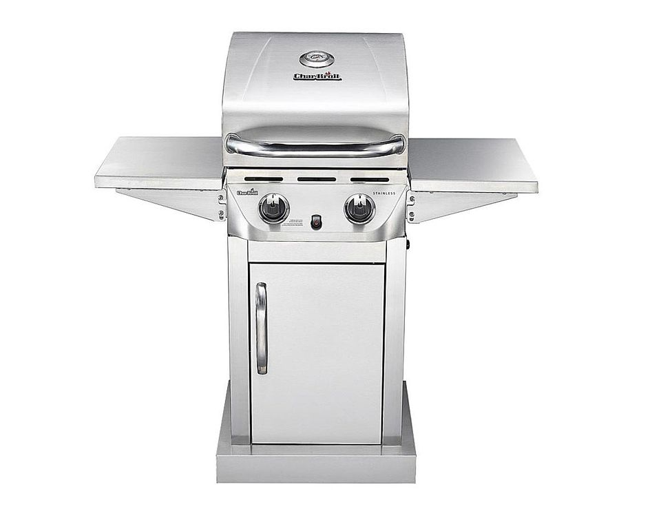 A Review Of The Char-Broil Stainless 2-Burner #463645015
