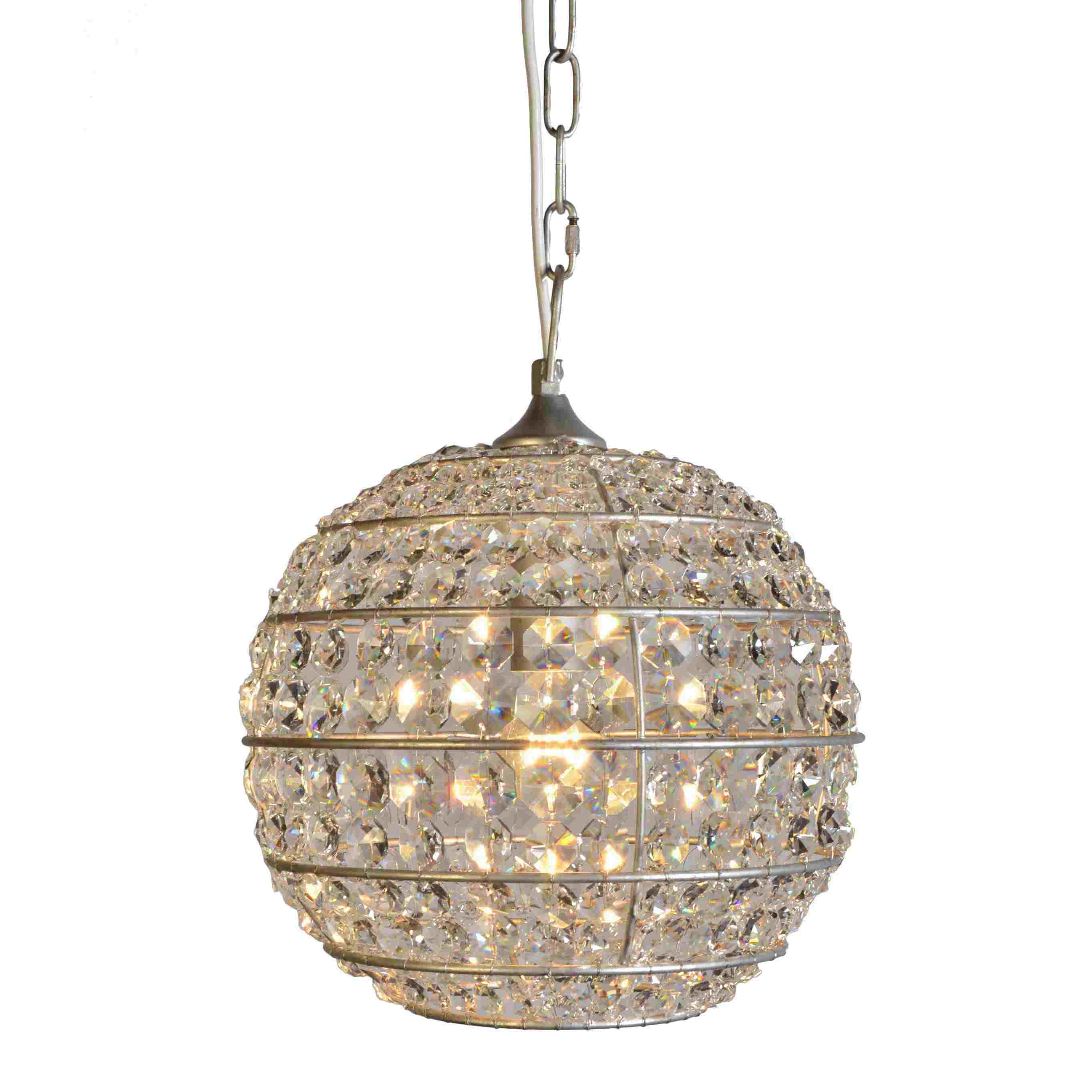bohemian chandeliers swarovski table chandelier ball chaise leather living folding light room couch with crystal imitation coffee fixture