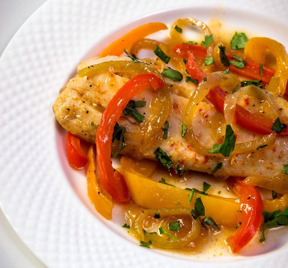 Sephardic Poached Fish