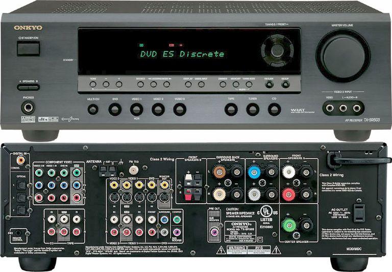 Onkyo TX-SR503 Home Theater Receiver