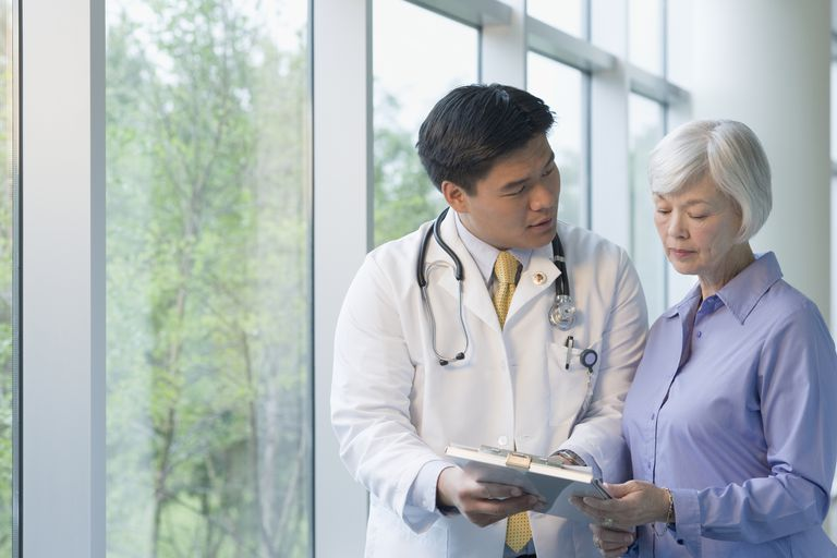 Physician Explaining Lewy Body Dementia