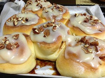 Old Fashioned Homemade Cinnamon Rolls With Easy Vanilla Glaze
