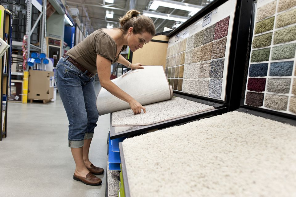 Shopping for a new carpet