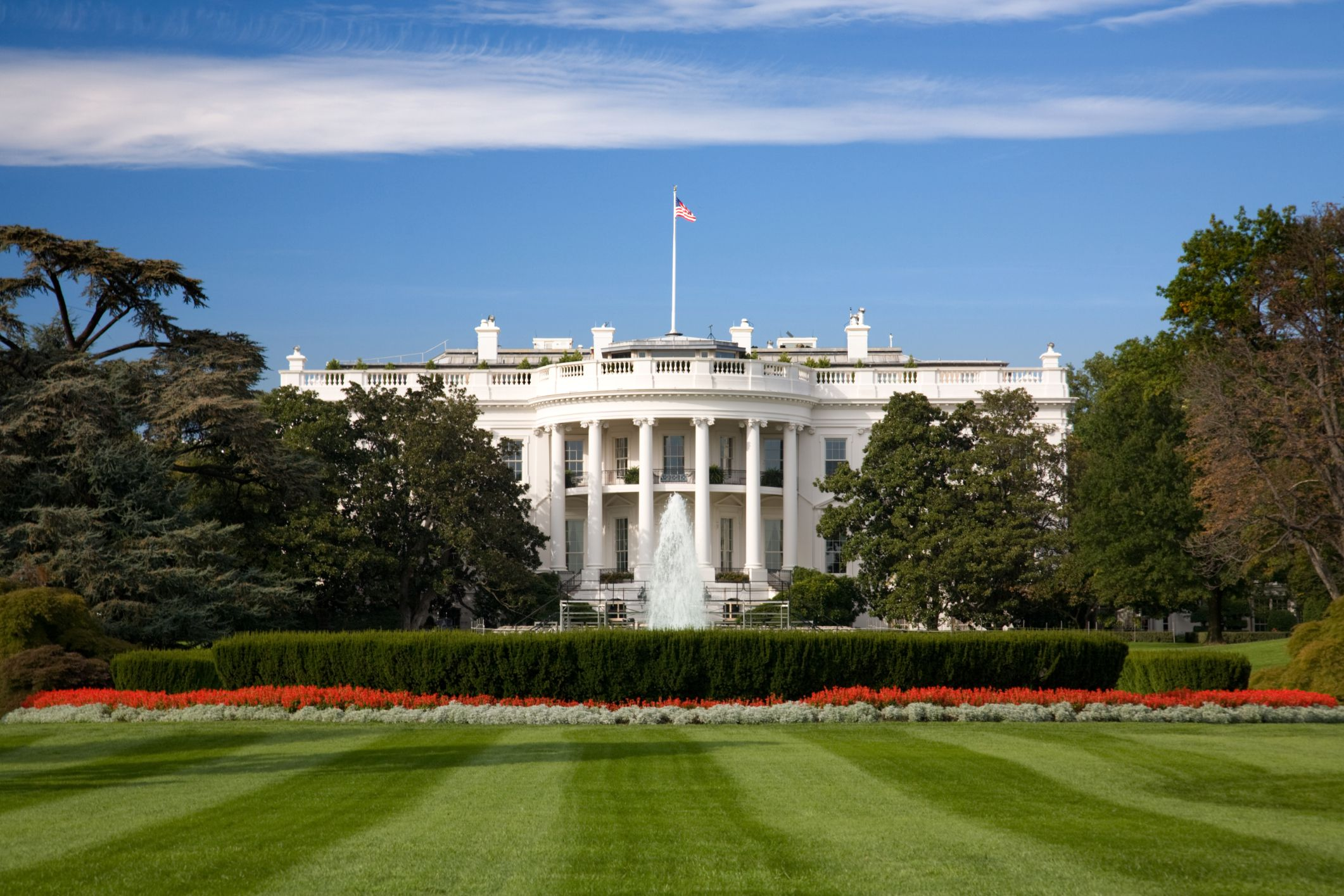 Pictures of the new white house