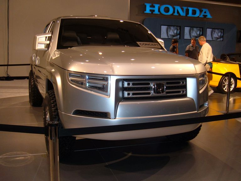 Honda Ridgeline concept at the 2004 San Francisco International Auto Show