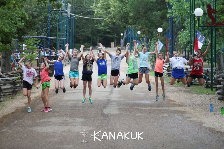 Campers at Kanakuk Kamps