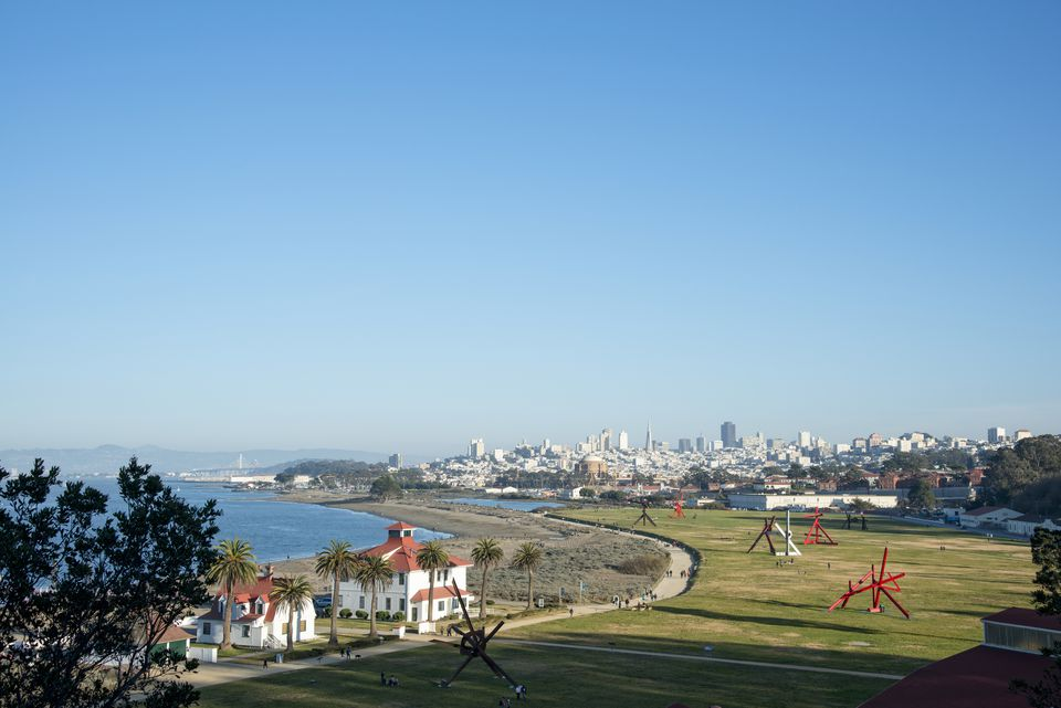 Crissy Field and San Francisco