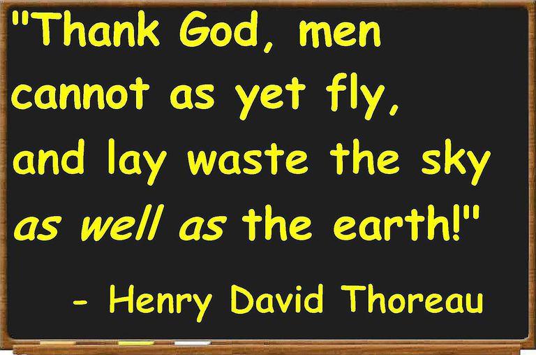 Thoreau quotation