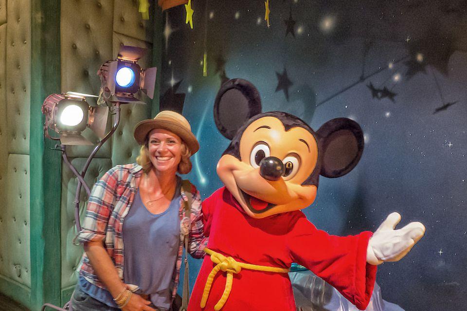 Having Fun at Disneyland
