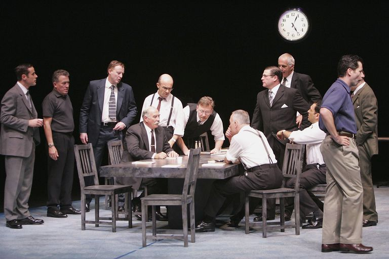 a literary analysis of reginald rose in 12 angry men A study guide for reginald rose's 12 angry men (film entry), excerpted from gale's acclaimed drama for students this concise study guide includes plot summary.