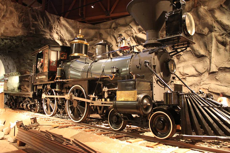 Gov Stanford Locomotive at the California State Railroad Museum