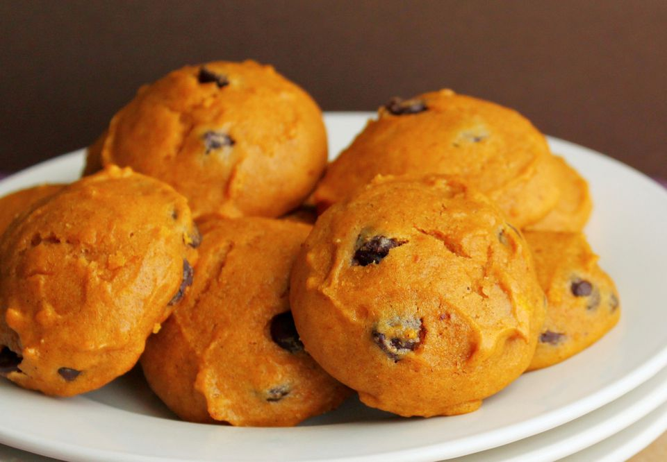 Spice Cake Mix Cookies With Pumpkin