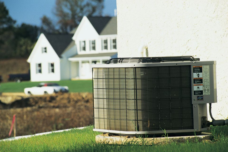 central air conditioning condensing unit