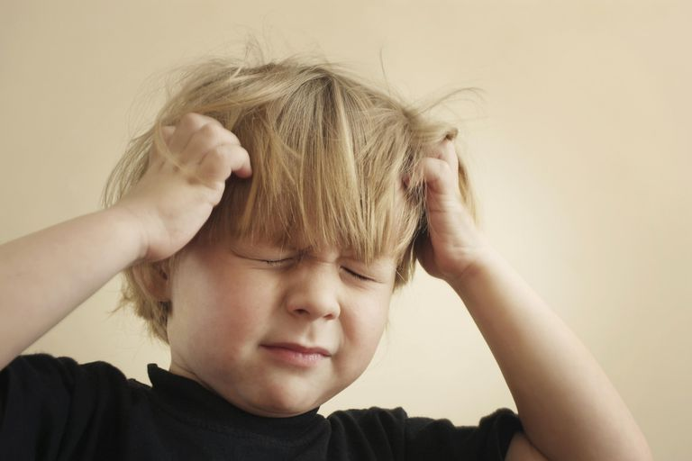 Itchy Scalp from Head Lice