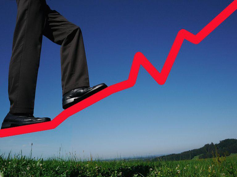 stocks rising
