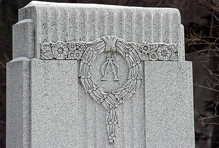 alpha and omega cemetery symbolism tombstone symbols