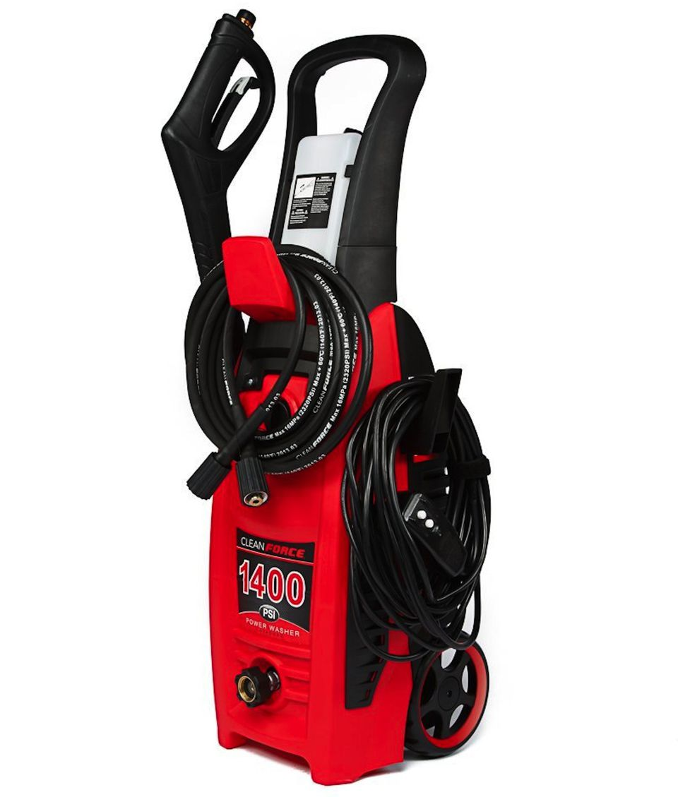 Clear Force CF1400 Electric Pressure Washer 1400 PSI
