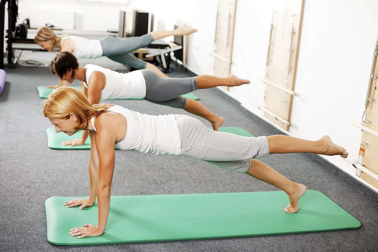 Quick Pilates Workout Exercise Examples