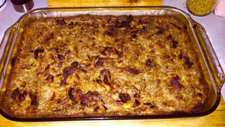 Traditional lithuanian potato pudding kugelis recipe forumfinder Images