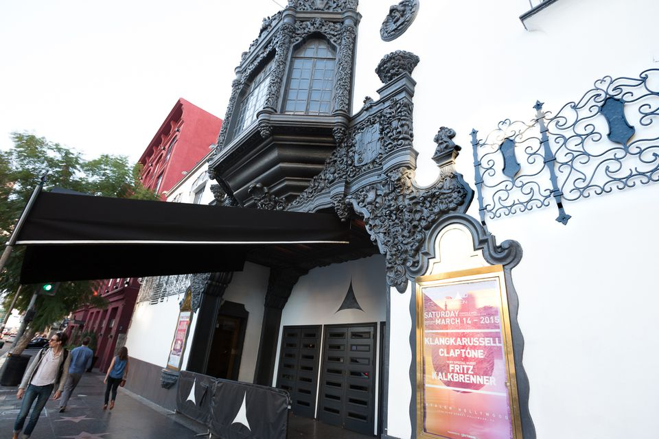 Avalon Nightclub in the old Palace Theatre