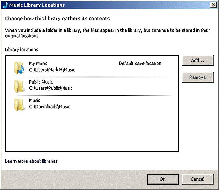 Folder Monitoring in Windows Media Player 12