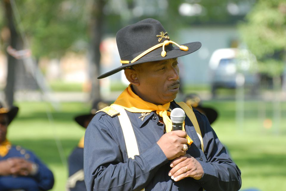 Buffalo Soldiers at Fort Missoula