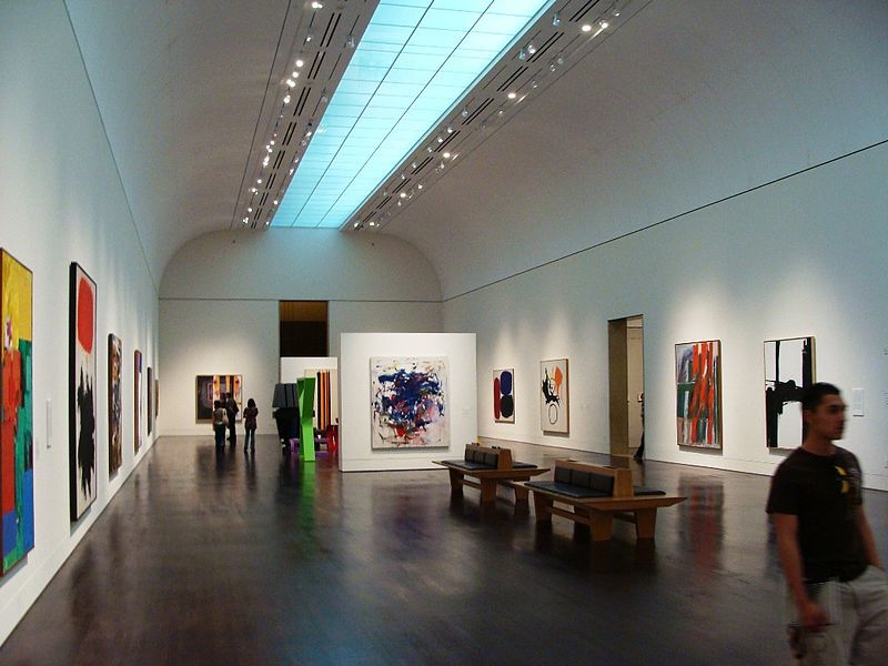 Among the largest university art museums