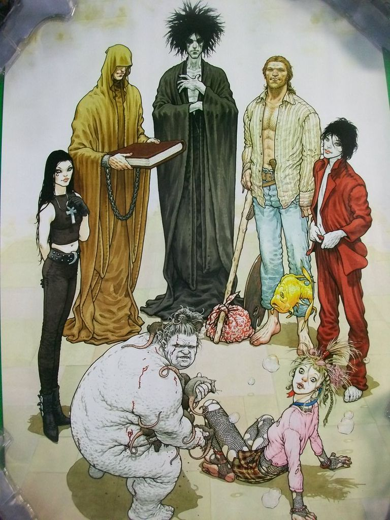 Sandman art by Frank Quitely
