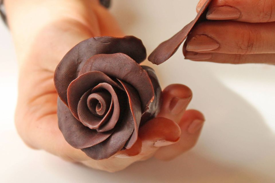 chocolate rose bouquet how to make