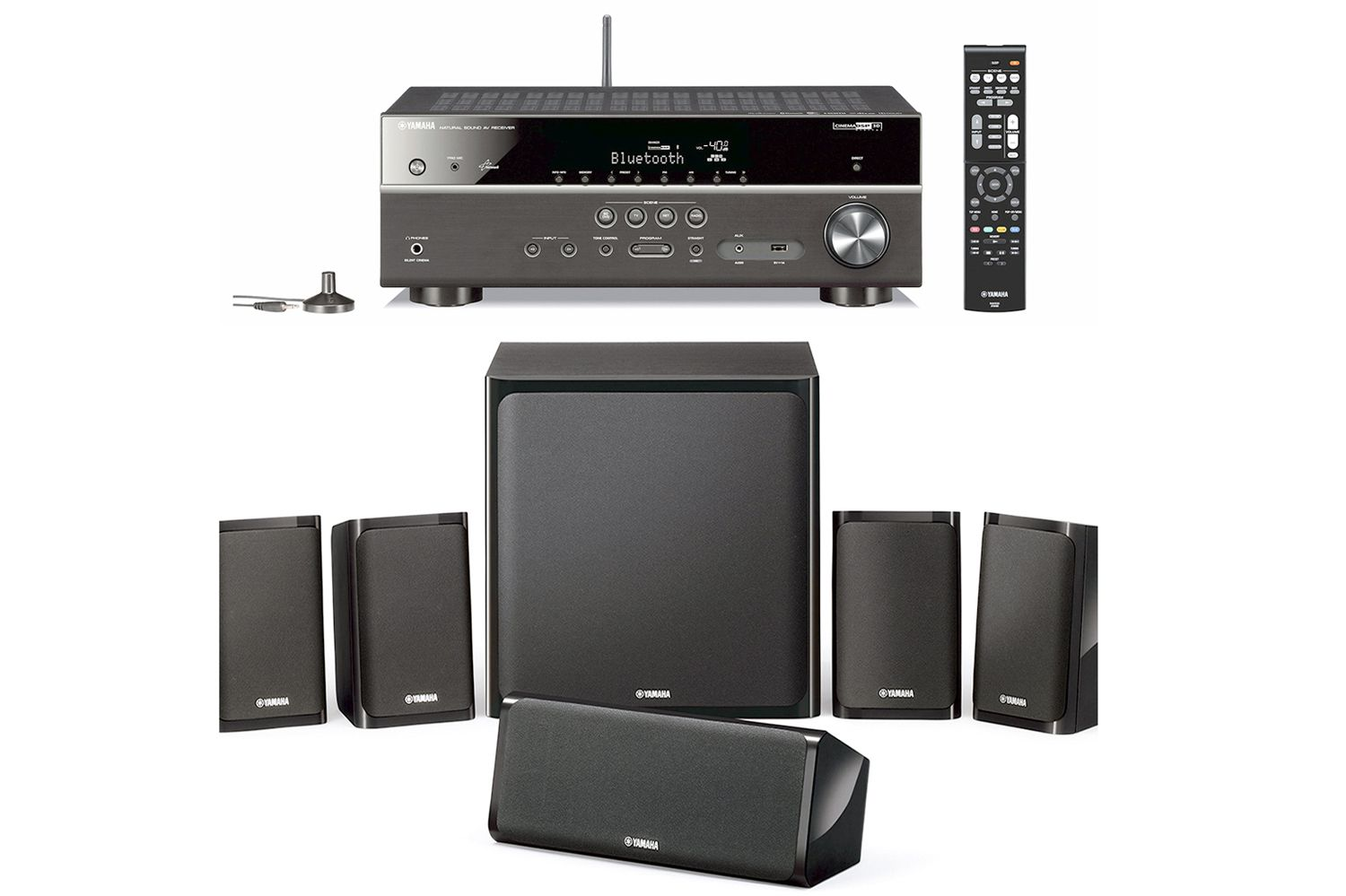 Yamaha 39 s yht 20 series home theater systems profiled for Yamaha tv receiver
