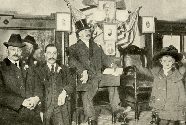 Photograph of Tammany Hall politician George Washington Plunkitt