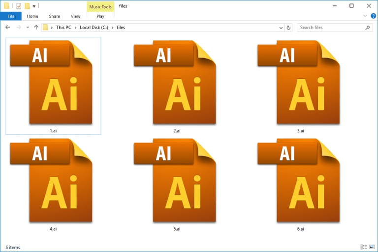 how to convert pdf file to ai format
