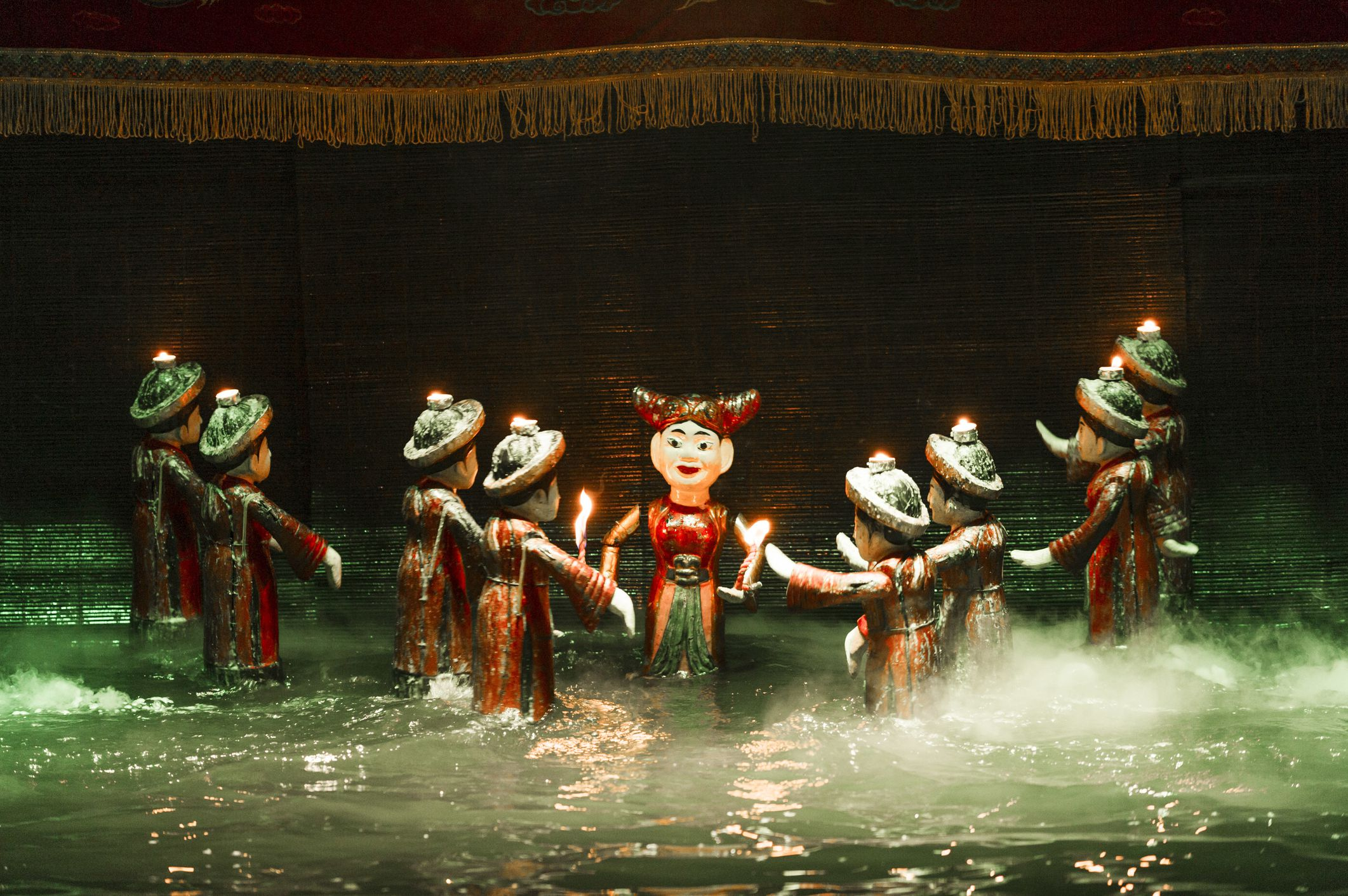 Vietnam's Traditionally Quirky Water Puppet Shows