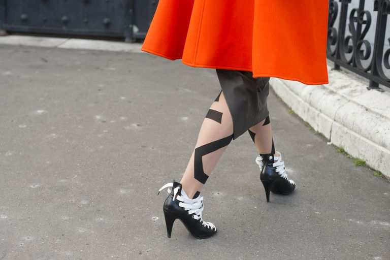 Tights in Paris